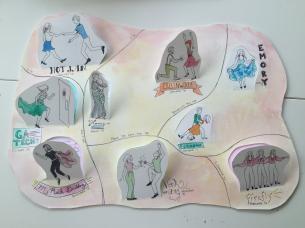 Savannah Colbert: Dancing Map