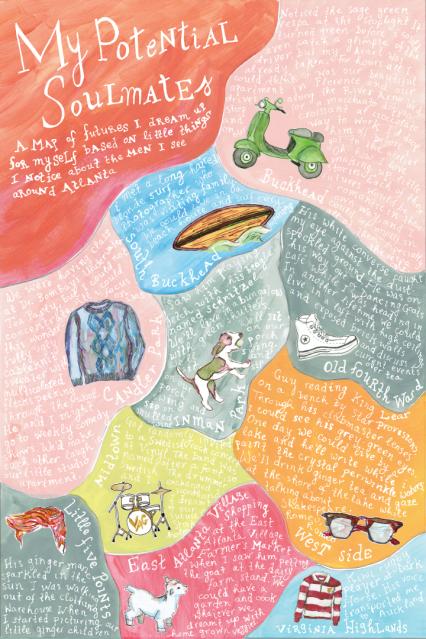 Alessandra Rabellino: Soul Mates Map