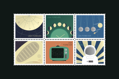 Anna Riethman: Space Race Stamps